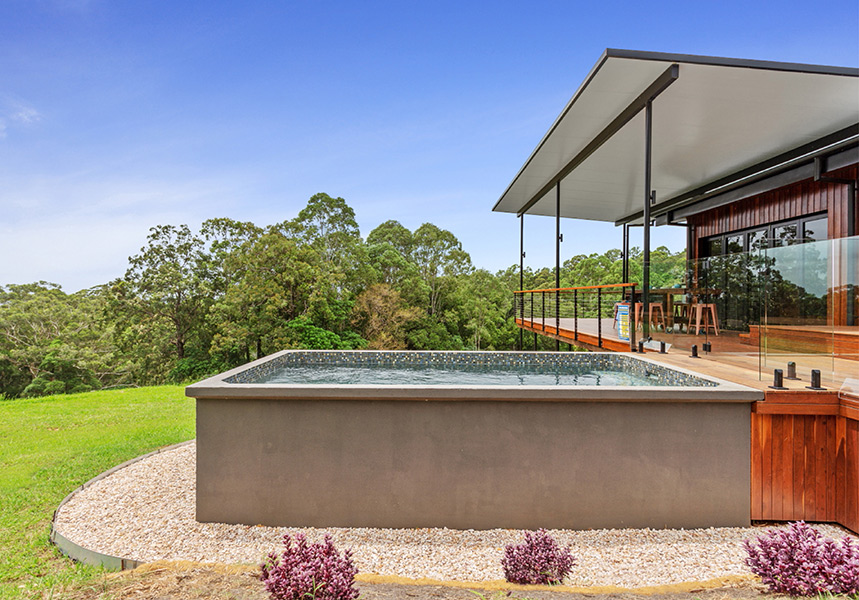 small plunge pool Brisbane Sunshine Coast