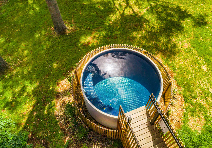 Concrete Plunge Pools Manufacturers Sunshine Coast Brisbane Sydney